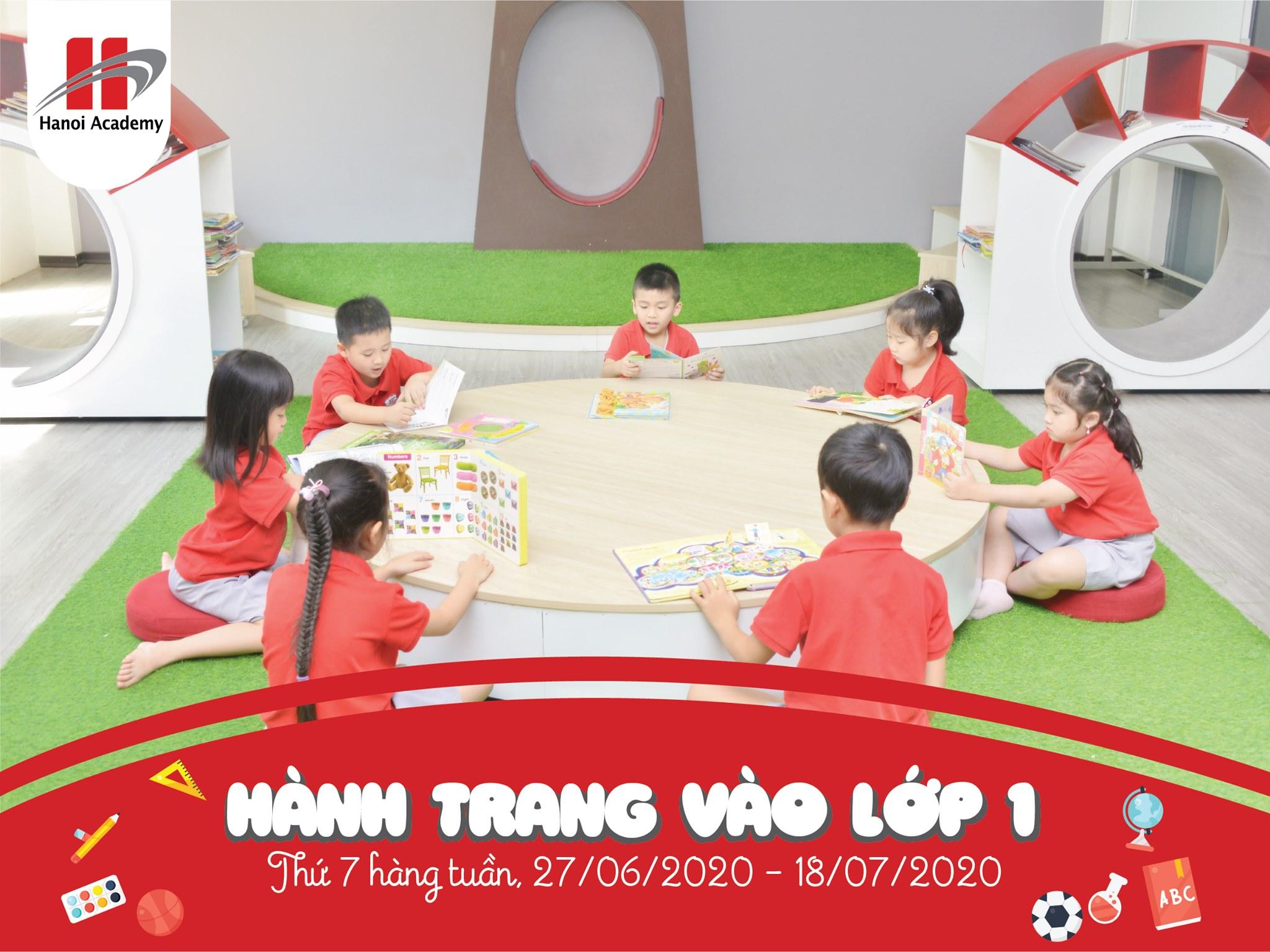 """Tuyển sinh Hanoi Academy Tuyển sinh khóa học """"Hành trang vào lớp 1 Hanoi Academy"""""""