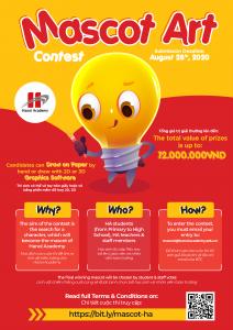 Mascot Art Contest 2020 Hanoi Academy