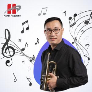 """""""Phiêu"""" cùng âm nhạc tại Hanoi Academy cùng nghệ sĩ Nguyễn Minh Quý"""