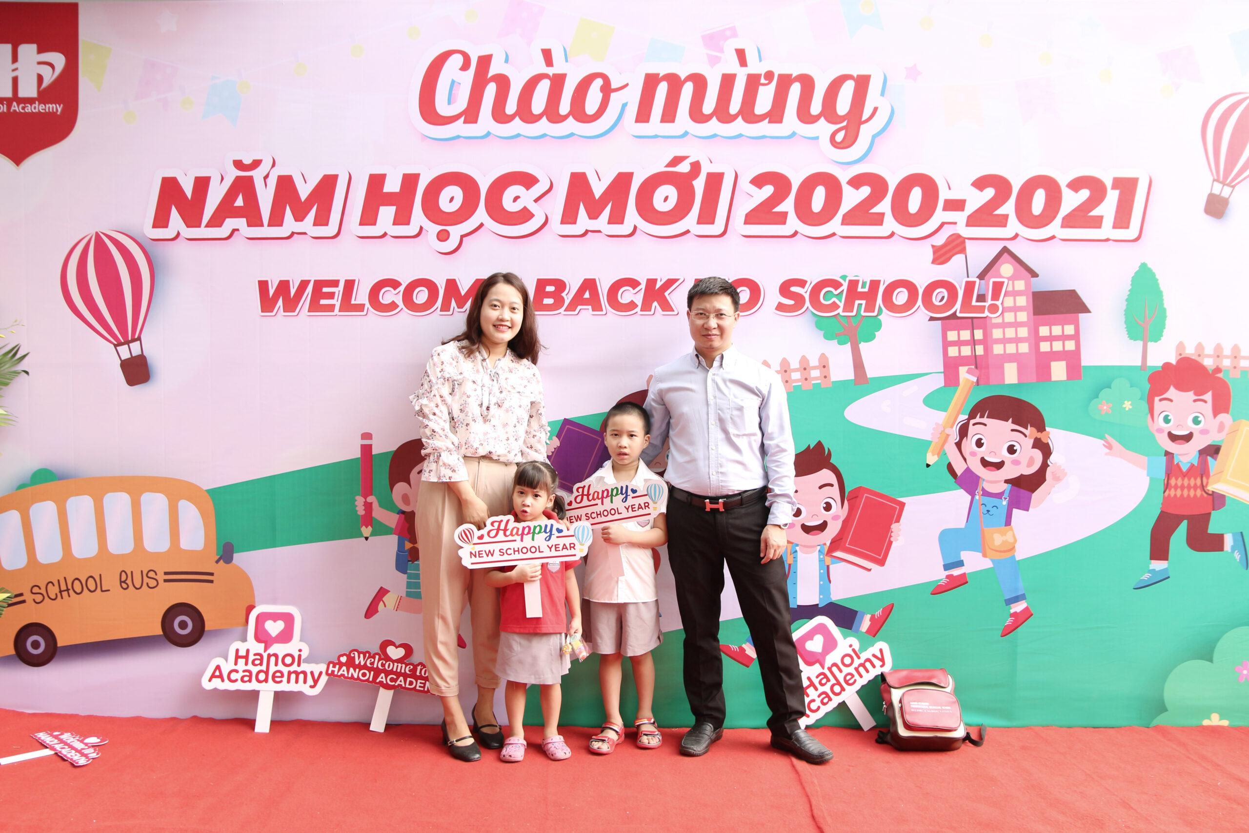 ngày tựu trường Ngắm nhìn những hình ảnh đẹp ngày tựu trường tại Hanoi Academy