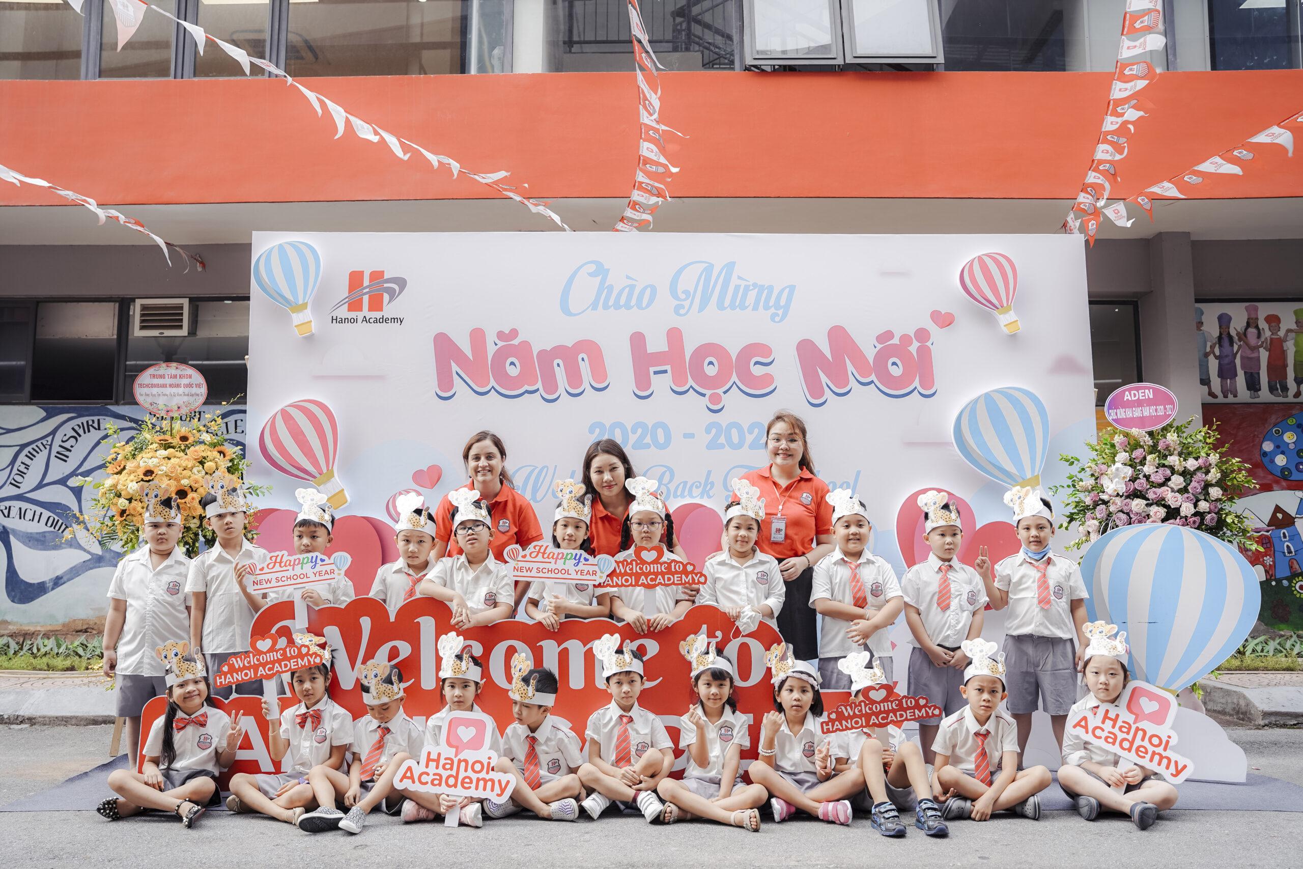 Ngắm nhìn những hình ảnh đẹp ngày tựu trường tại Hanoi Academy
