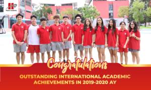 Thành tích vượt trội của học sinh Hanoi Academy trong các kì thi quốc tế năm học 2019-2020