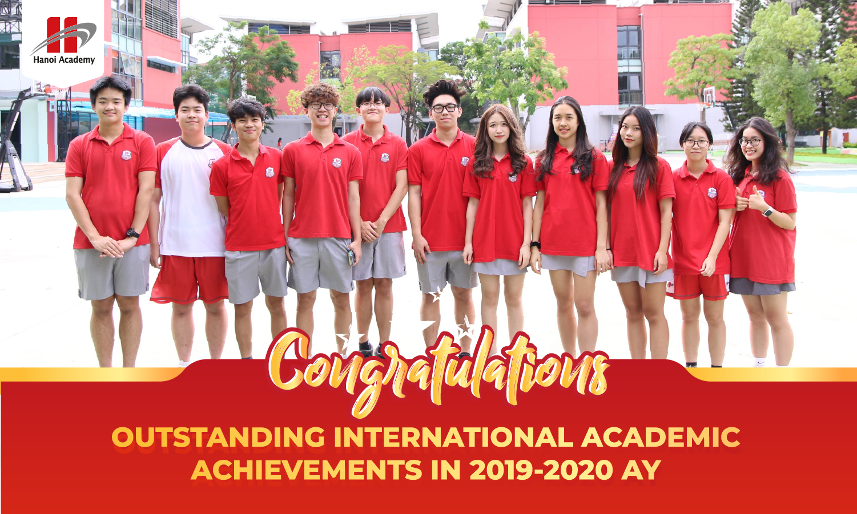 Thành tích vượt trội của học sinh Hanoi Academy trong các kì thi quốc tế năm học 2019-2020 Trang chủ
