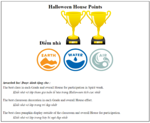 Lễ Hội Halloween 2020 – Khối Tiểu học