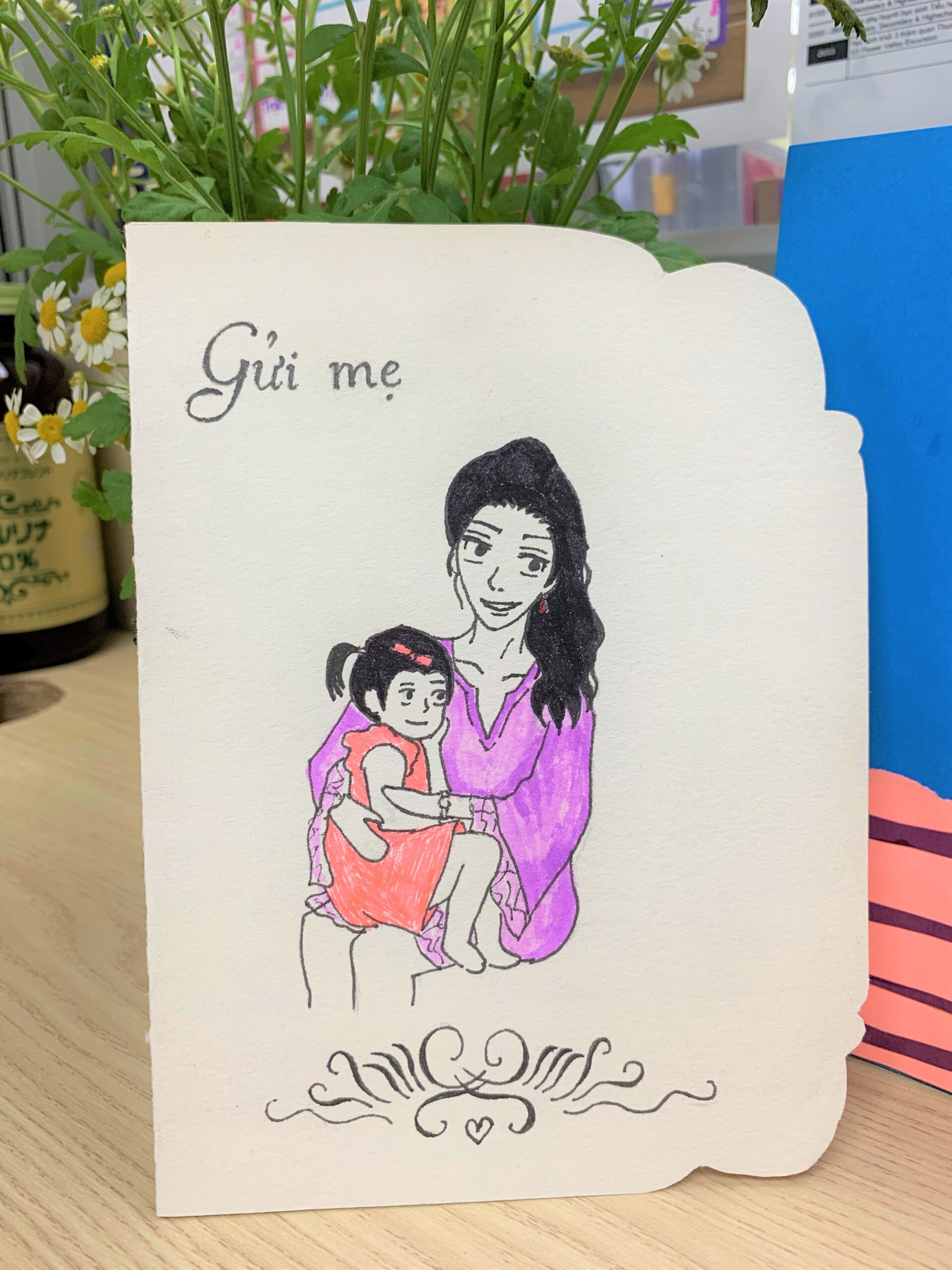 Bức thư gửi mẹ