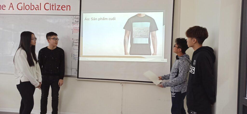 Dự án Toán Pomath: Thiết kế đồng phục lớp