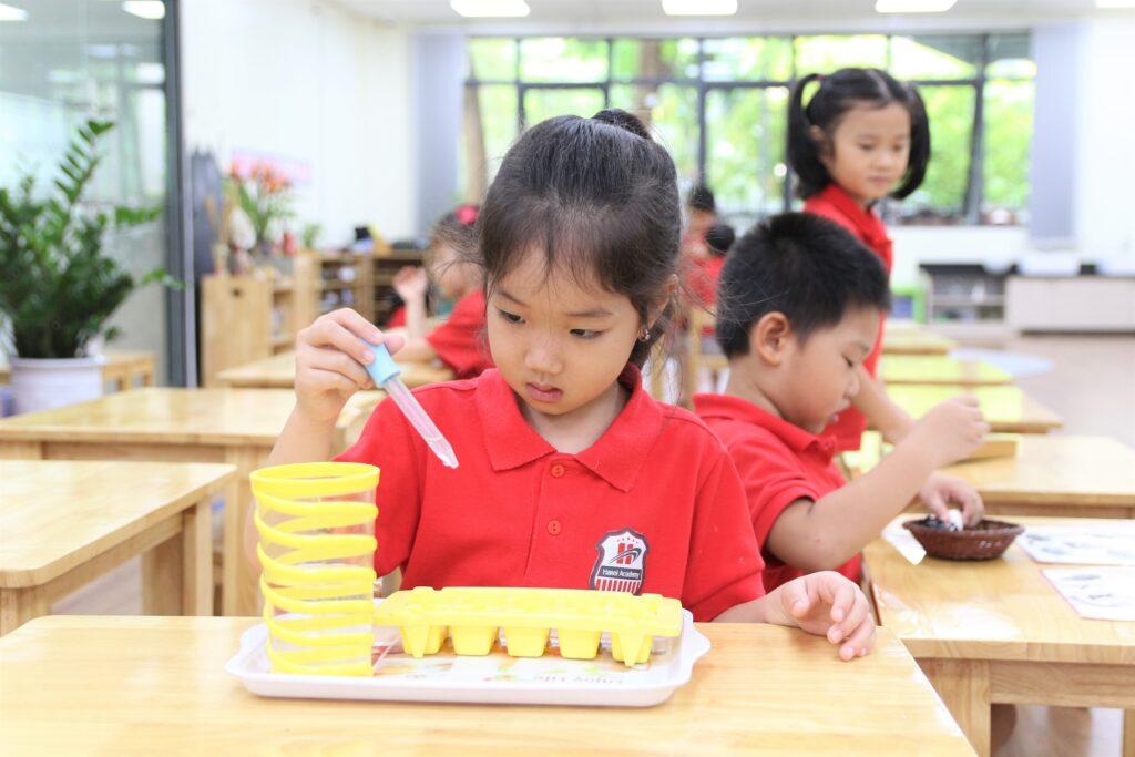 Lĩnh vực thực hành cuộc sống (Practical Life) trong phương pháp giáo dục Montessori