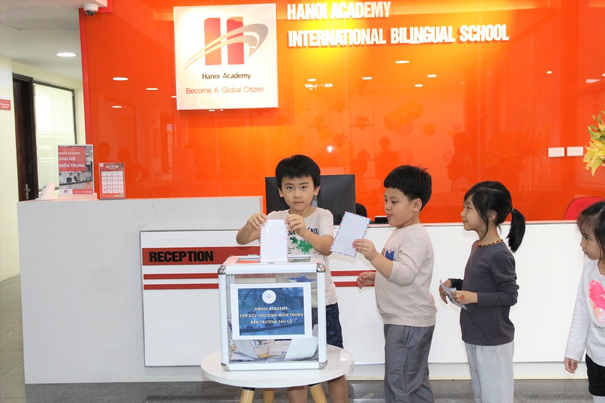 Hanoi Academy tổ chức chuyến đi từ thiện hướng về Miền Trung