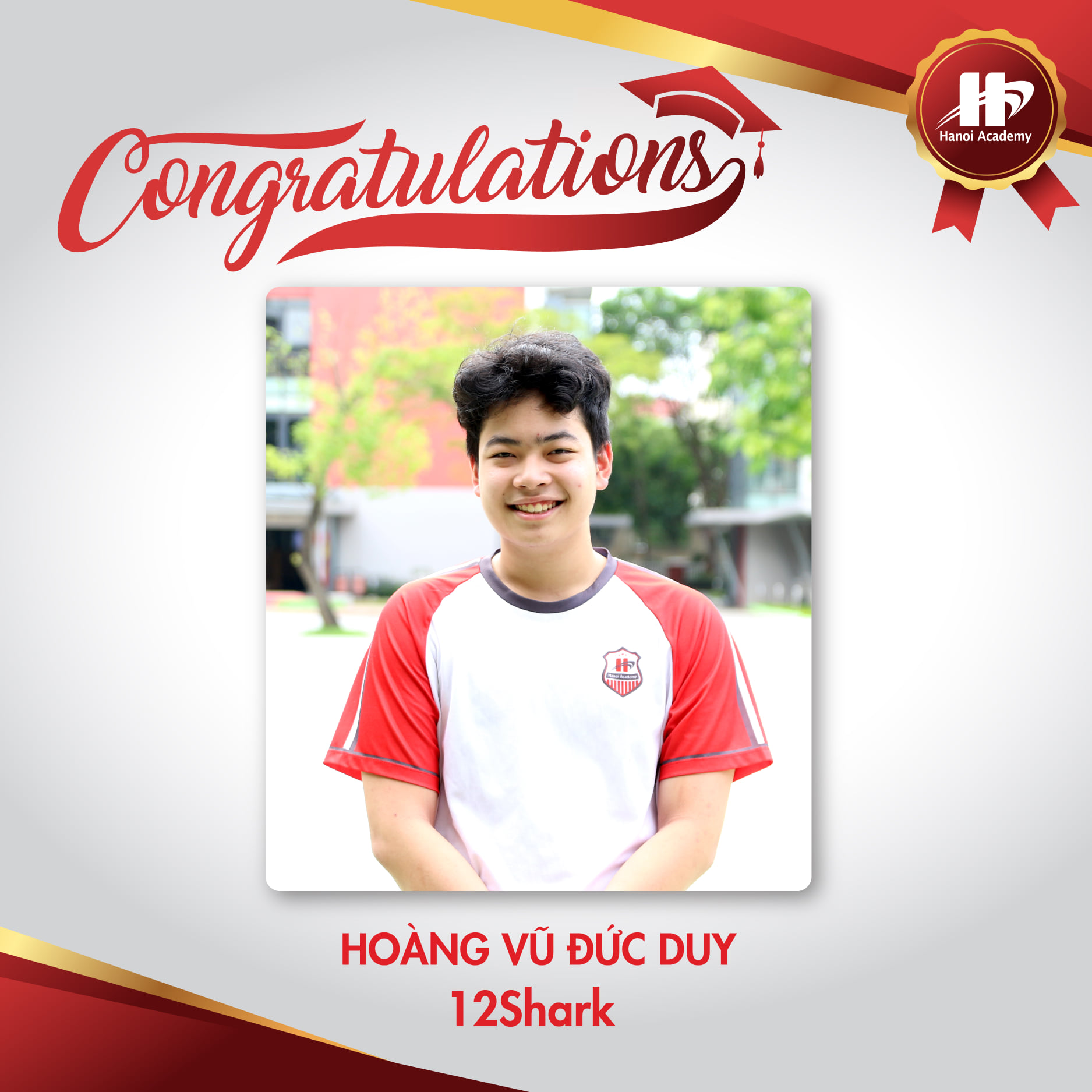 Học sinh lớp 12 Hanoi Academy đỗ đại học top đầu nước Mỹ
