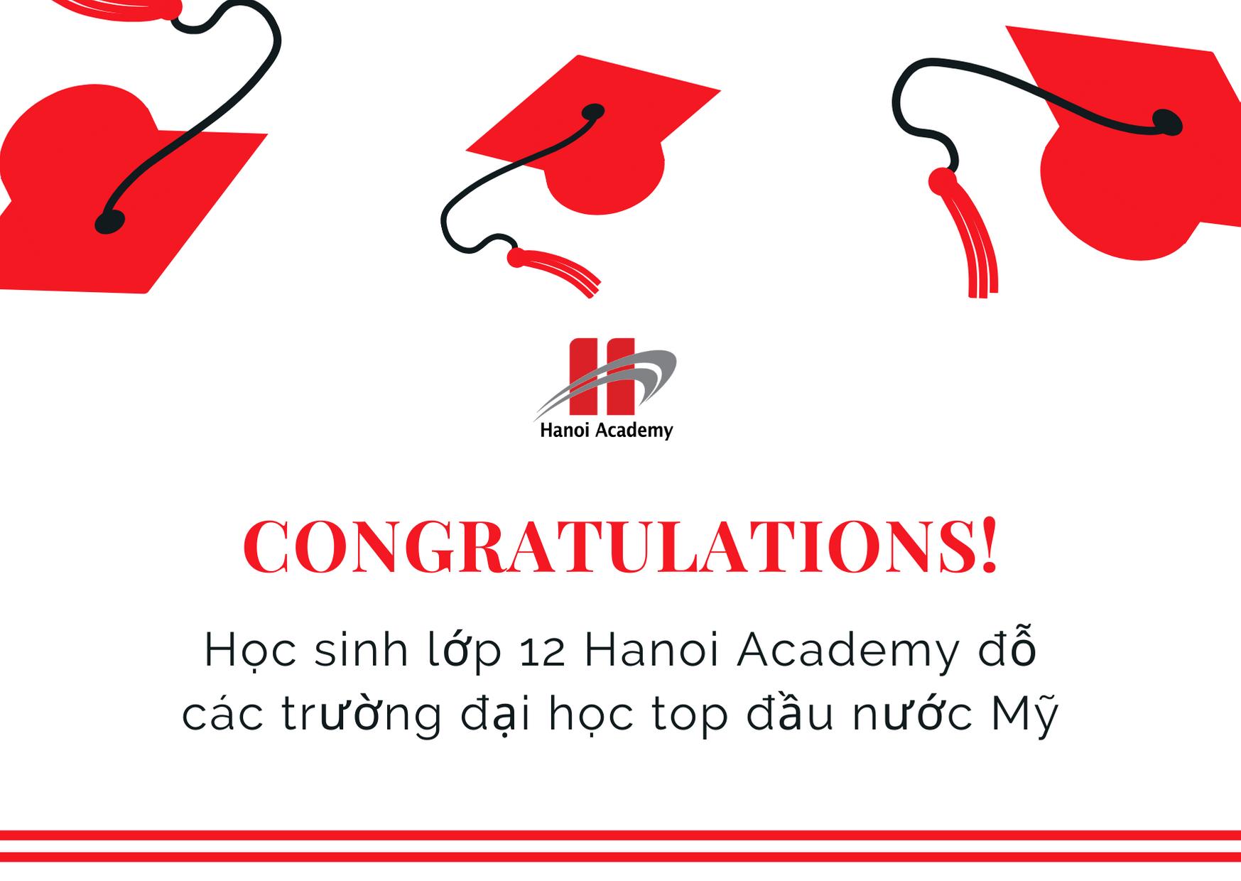Học sinh lớp 12 Hanoi Academy đỗ đại học top đầu nước Mỹ Trang chủ