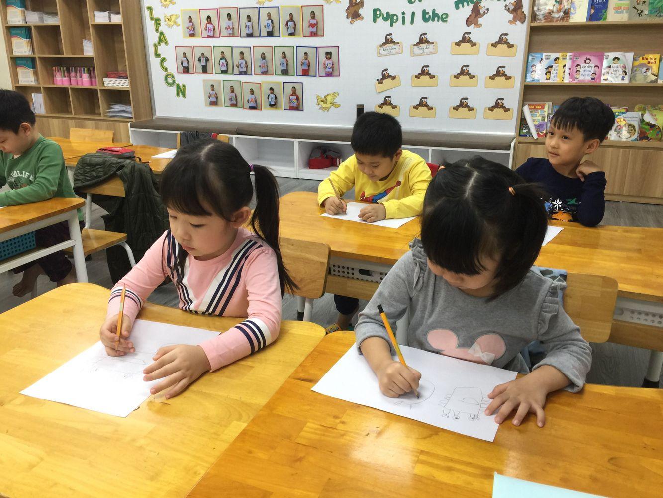 Khối Mẫu giáo lớn được trang bị đầy đủ hành trang trong giai đoạn tiền tiểu học Trang chủ