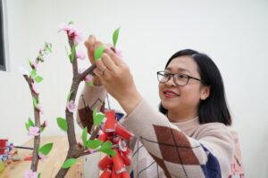 Công tác chuẩn bị cho sự kiện Tết Tân Sửu tại trường Mầm Non Hanoi Academy