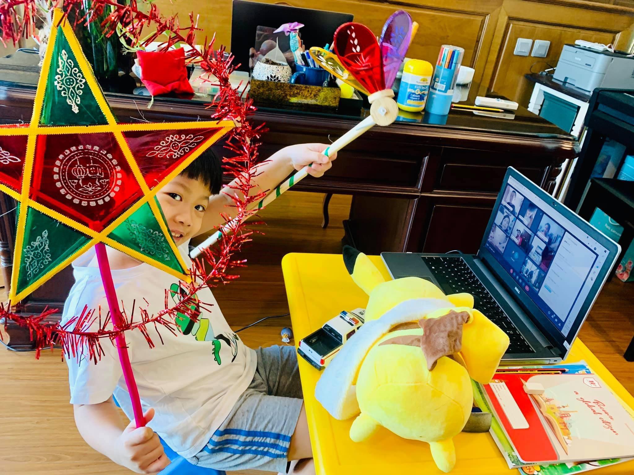 Cảm nhận của mẹ Lina Boli về mái trường HA Trang chủ